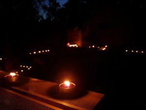 Yoga by night à Beaune - que les étoiles et les bougies